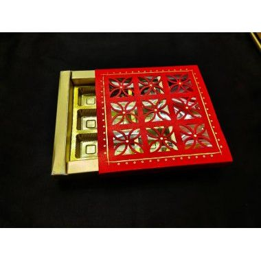 9 Cavity box- Red (Rs.45/-)