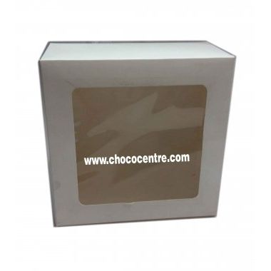 window cake box White 10